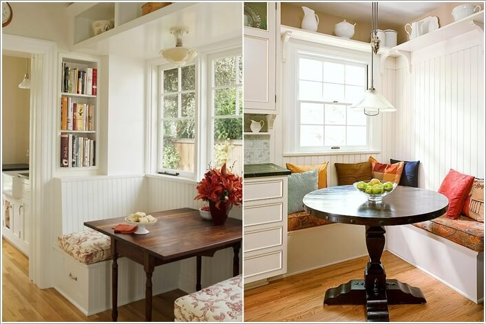 Ordinaire 10 Cool And Clever Breakfast Nook Storage Ideas