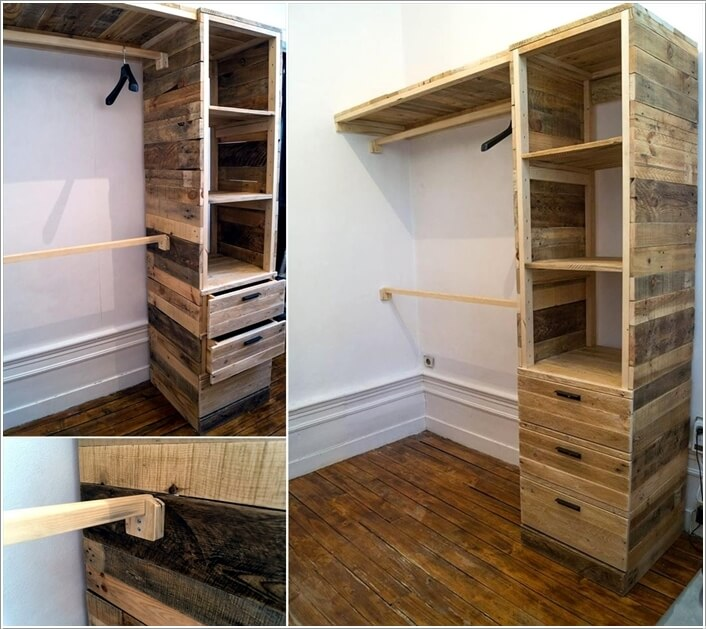 Beau 10 Cool And Clever Diy Corner Closet Ideas