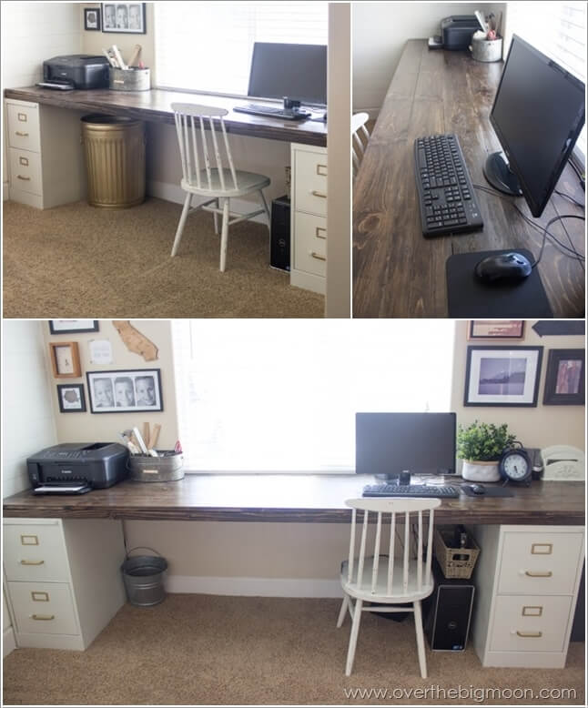 Home Desk Design Ideas: 10 Creative DIY Computer Desk Ideas For Your Home