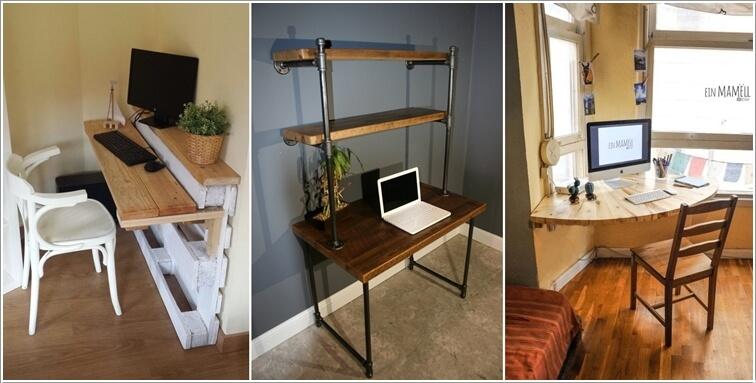 Exceptional 10 Creative Diy Computer Desk Ideas For Your  Home Design Ideas