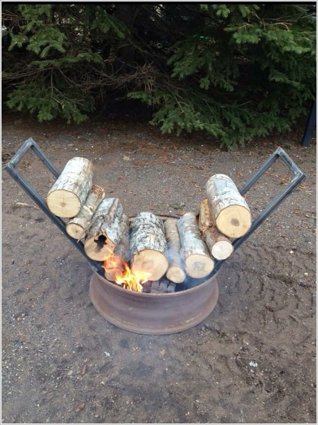 Creative wood log crafts to try this winter