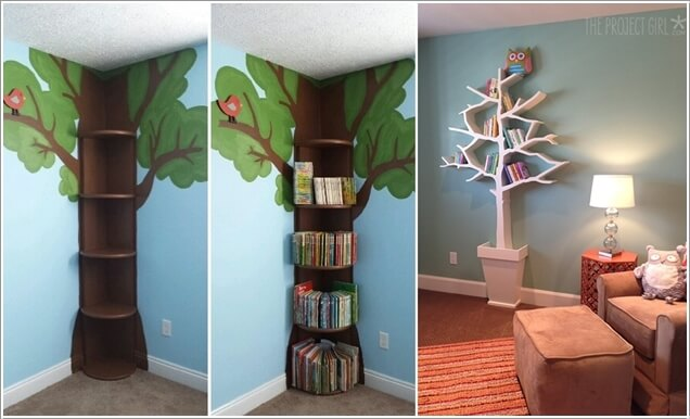 10 Cute And Creative Tree Inspired Kids' Room Decor Ideas