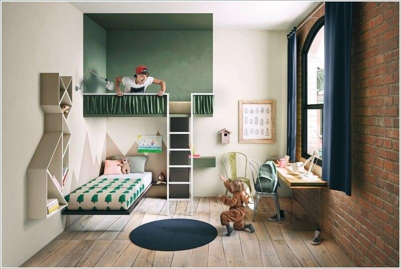 10 Cute and Creative Tree Inspired Kids' Room Decor Ideas 10