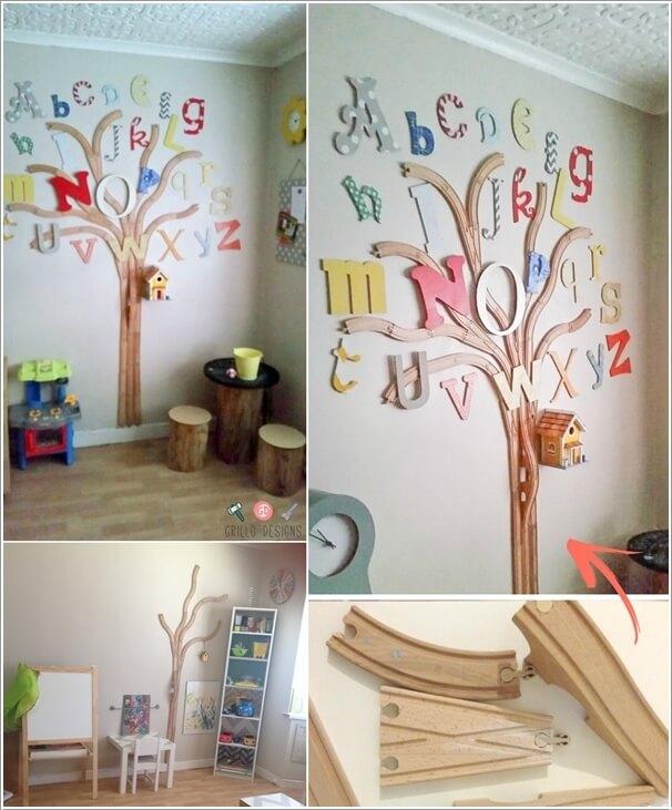 10 Cute and Creative Tree Inspired Kids' Room Decor Ideas 4
