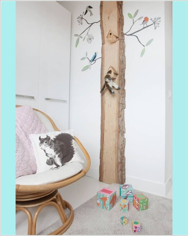 10 Cute and Creative Tree Inspired Kids' Room Decor Ideas 5