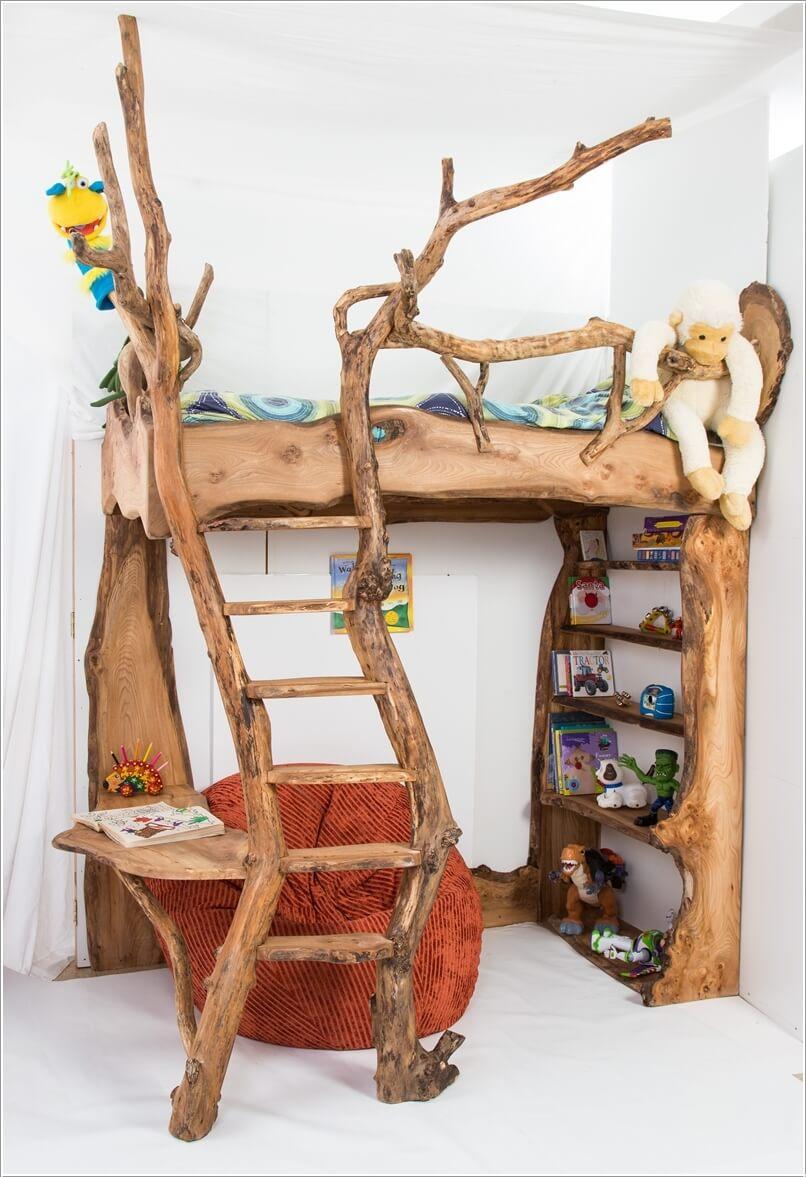 10 Cute and Creative Tree Inspired Kids' Room Decor Ideas 6