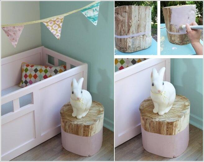 10 Cute and Creative Tree Inspired Kids' Room Decor Ideas 8