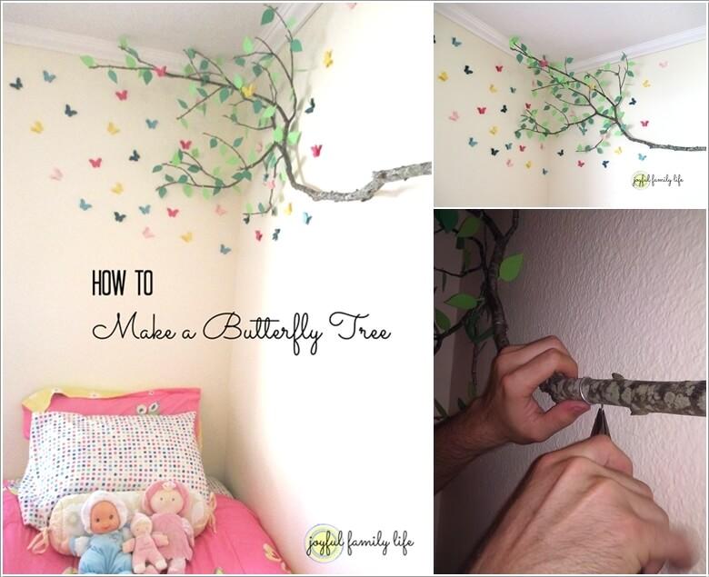 10 Cute and Creative Tree Inspired Kids' Room Decor Ideas 9