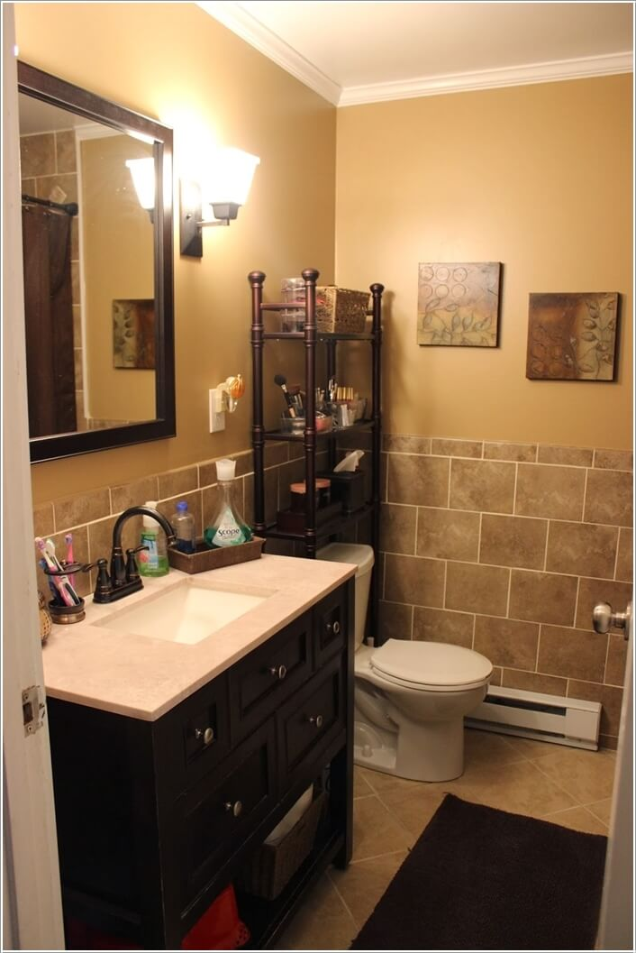 Popular  Design  15 Intelligent Life Hacks For Rest Room Storage And Group