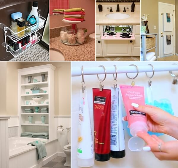 Simple 33 Bathroom Storage Hacks And Ideas That Will Enhance Your Home Beige
