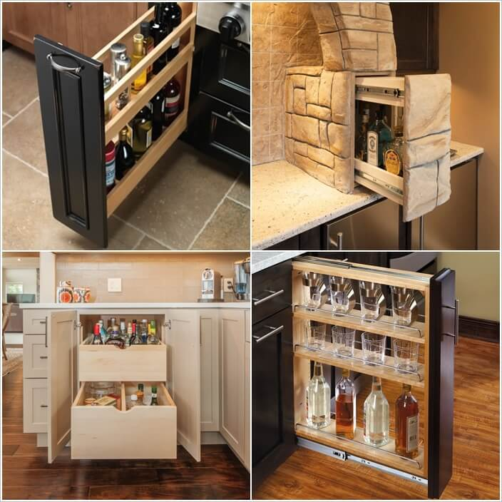 10 Clever Ways To Store Wine Bottles In Drawers