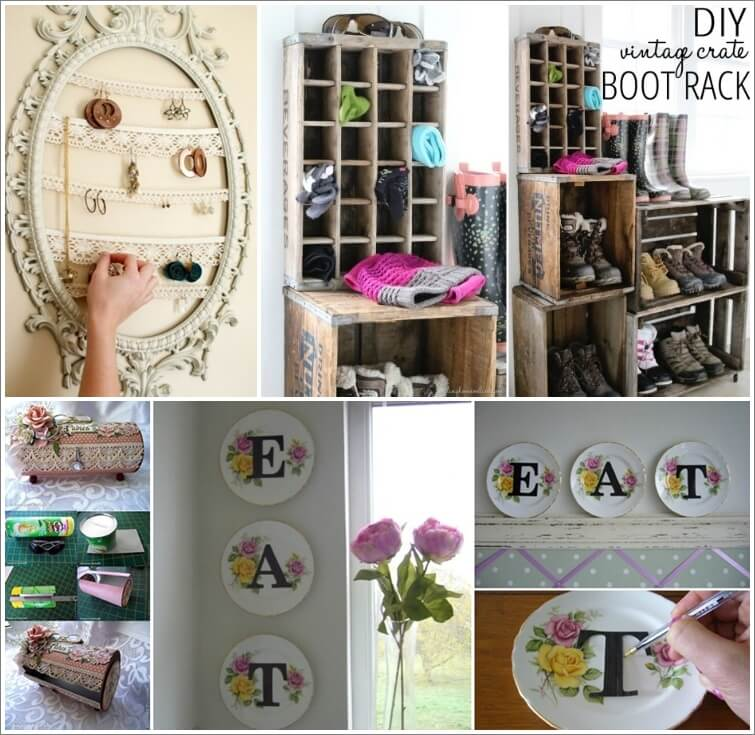 30 Timeless Vintage Decor Projects for Your Home 1