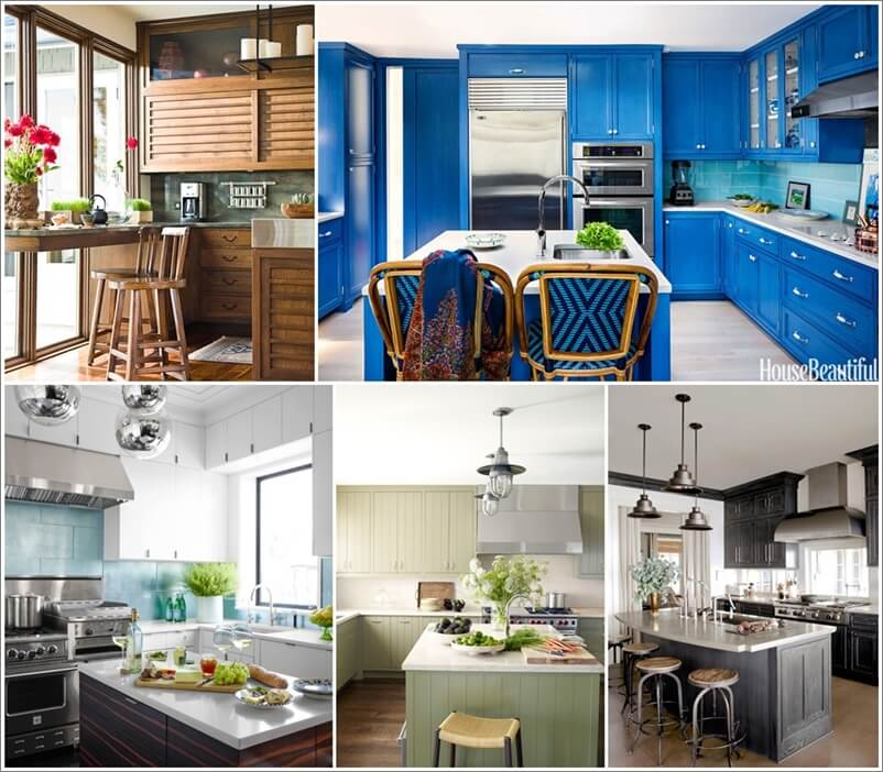 Kinds Of Kitchen Cabinets