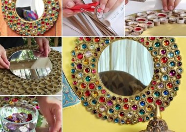 this-cardboard-mirror-frame-in-boho-style-is-just-superb-fi