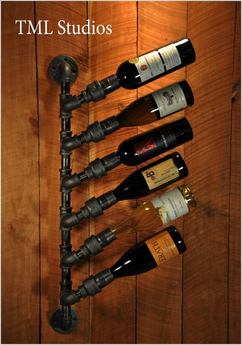 10 Cool Diy Wine Bottle Holders For You