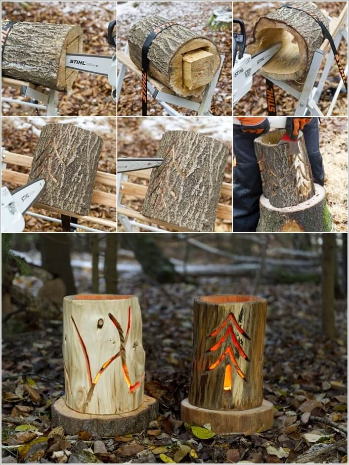 10 Cool Fallen Tree Home Decor Projects