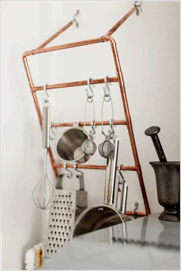 10 Cool Utensil Racks For An Organized Kitchen