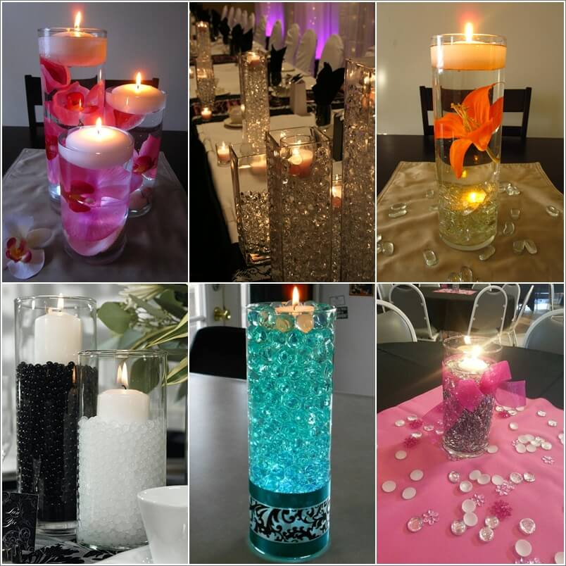 Creative ways to craft centerpieces with tall vases