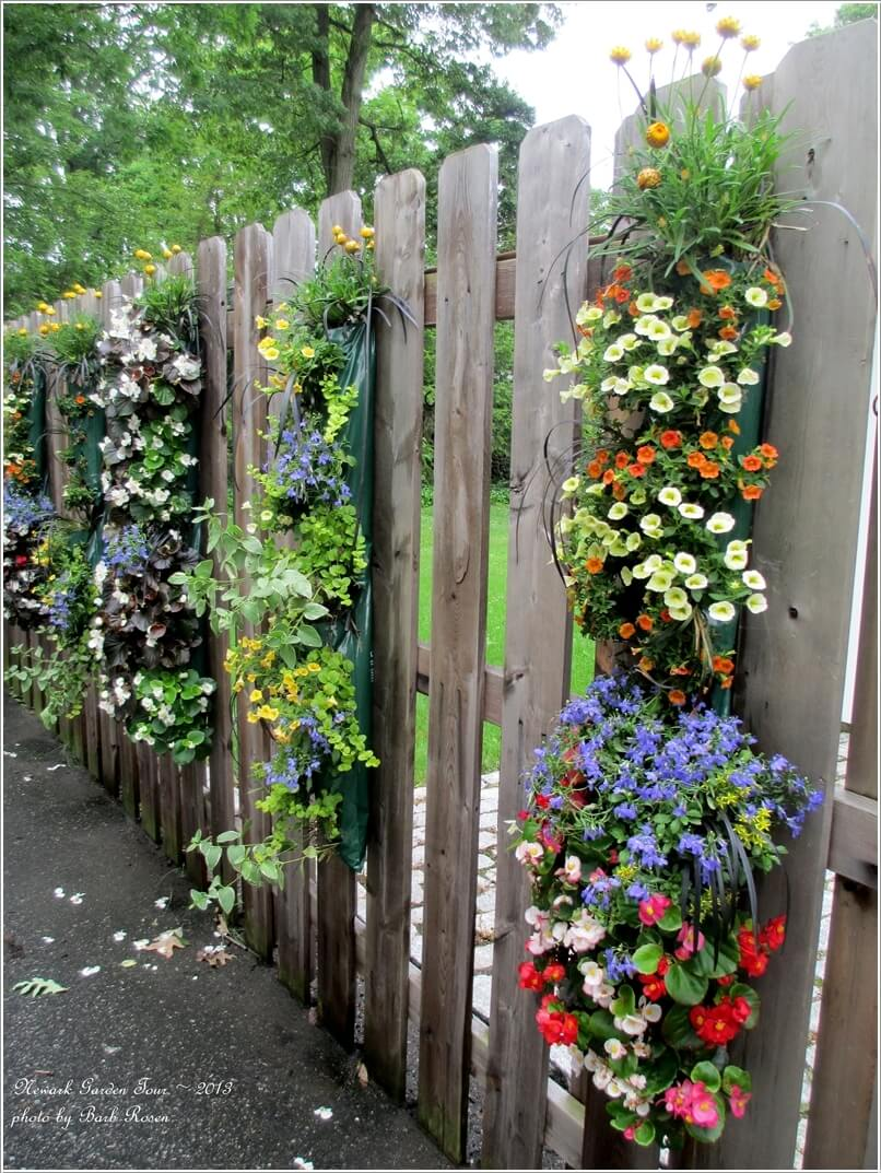 10-terrific-planter-ideas-to-decorate-your-fence-with-2