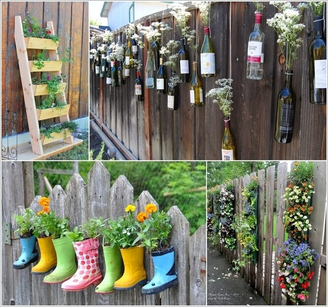 10 Terrific Planter Ideas To Decorate Your Fence With