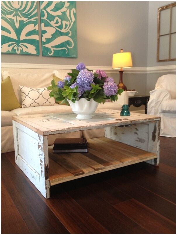 10 Things To Rethink As A Coffee Table For Your Living Room