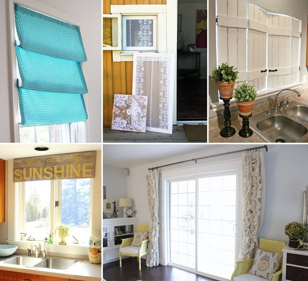 15 creative diy window decor projects for your home - Diy tips home window cleaning ...
