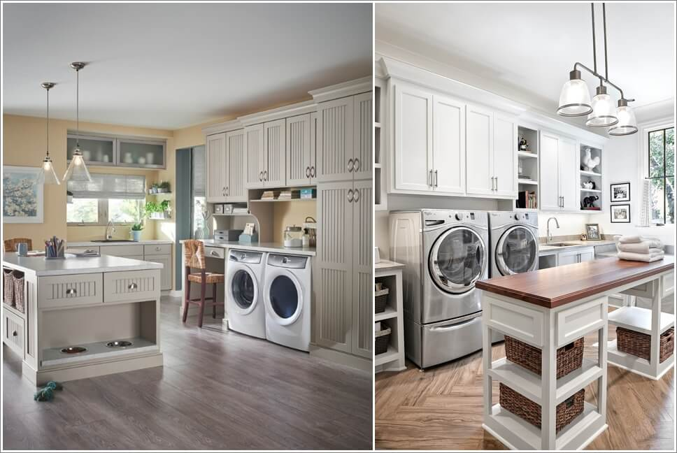 15 laundry rooms with clever storage solutions Storage solutions for small laundry rooms