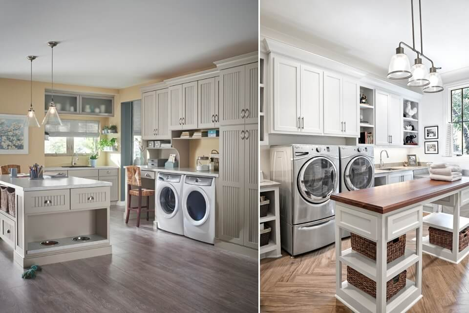 15 Laundry Rooms With Clever Storage Solutions