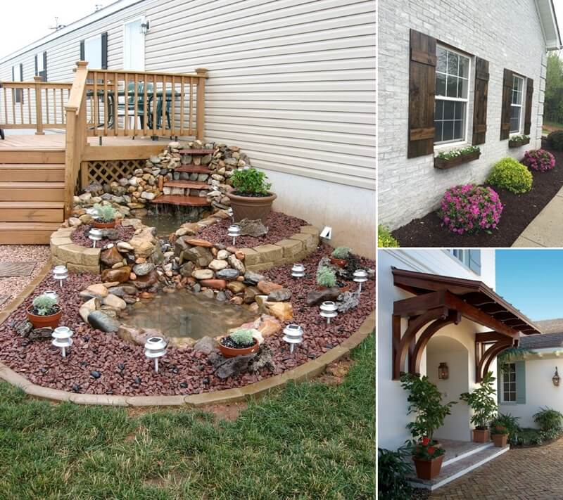 Home Design Ideas Front: 15 Unique Home Front Decor Features That Will Add Curb Appeal