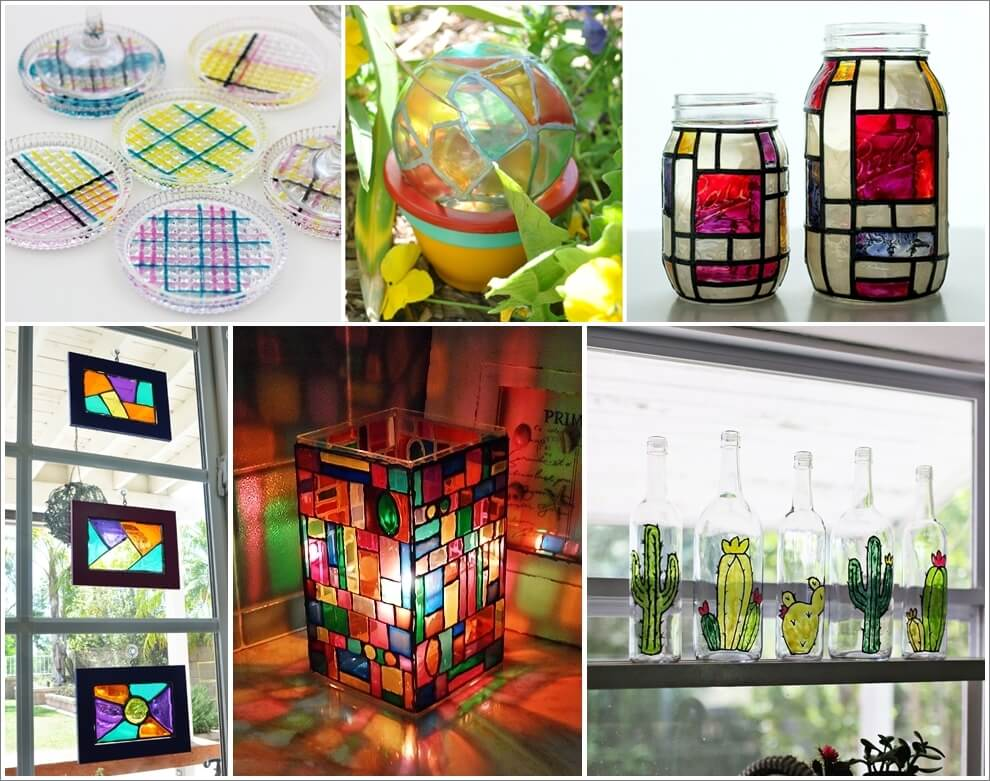 18-super-creative-faux-stained-glass-diy-projects-1