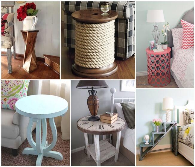 25 diy side table ideas you will admire Diy Side Table Ideas
