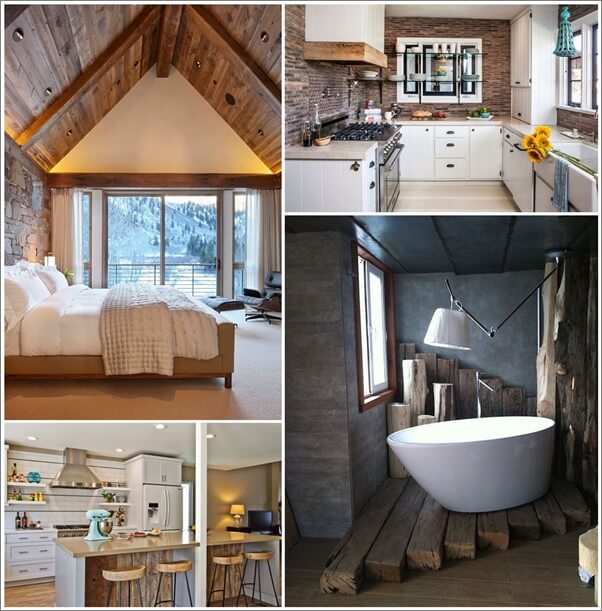 25 elegant elements for a rustic home decor
