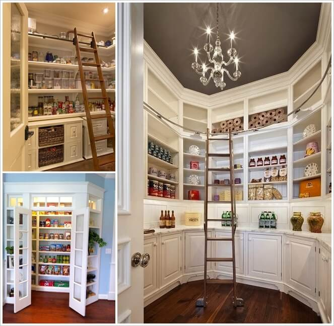 29 Superb Walk In Pantry Designs You Will