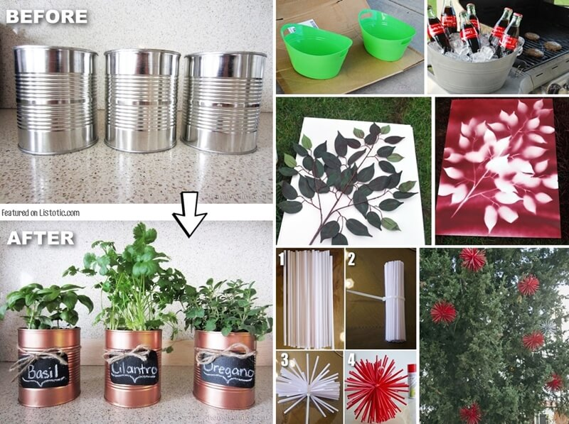 29 Terrific Ways to Use Spray Paint in Home Decor