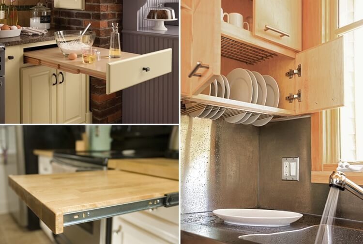 34 Clever Hacks For A Small Kitchen
