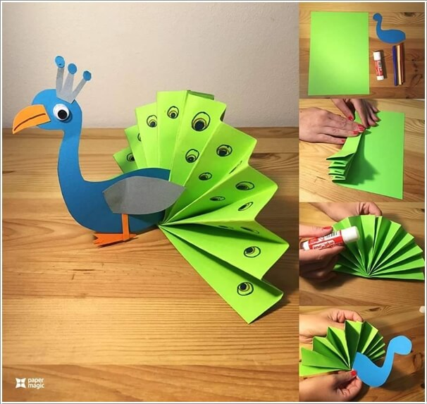 this-folded-paper-peacock-is-so-adorable-1