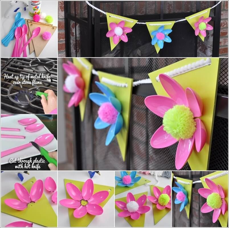this-plastic-spoon-flower-garland-is-so-creative-1