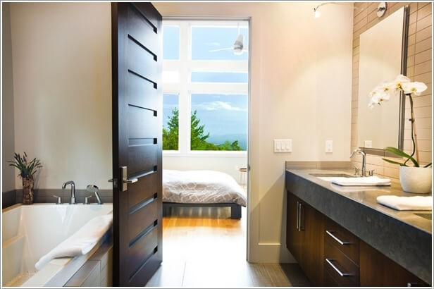 what kind of door is suitable for your. What Kind of Door is Suitable for Your Bathroom