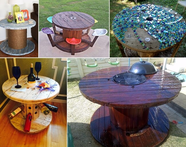 10 Cable Spool Tables That Are Simply Awesome