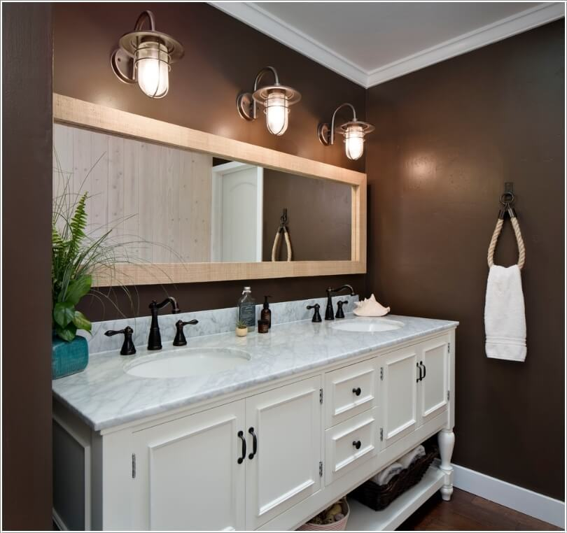 10 chic bathroom vanity lighting ideas for Bathroom lighting ideas
