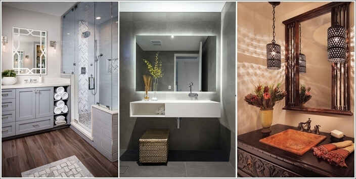 Amazing How To Choose The Lighting Scheme For Your Bathroom