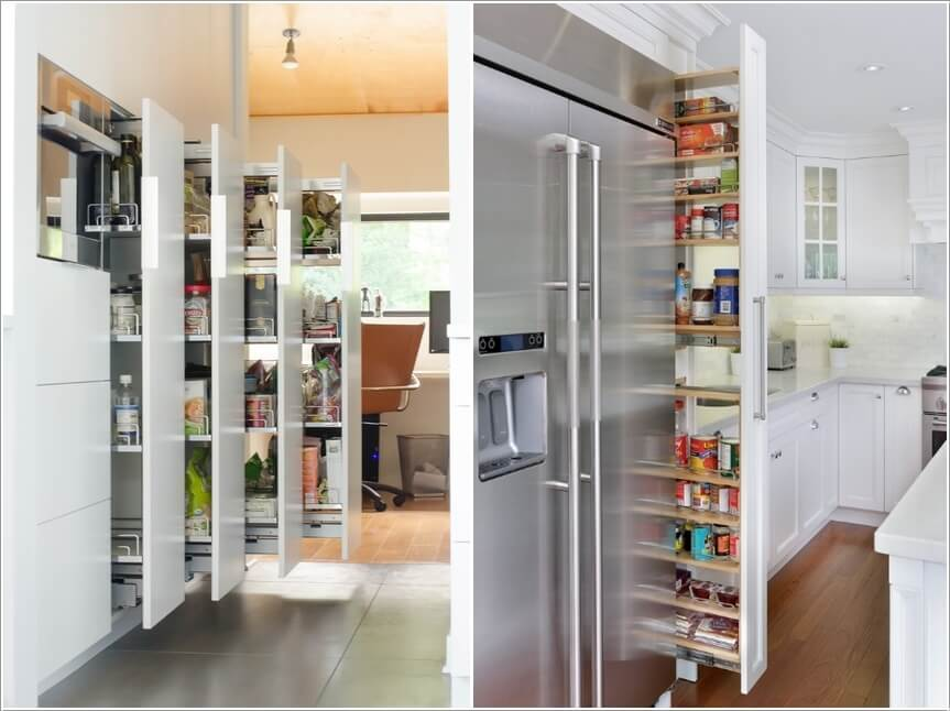 Captivating 10 Clever Vertical Storage Ideas For Your Kitchen
