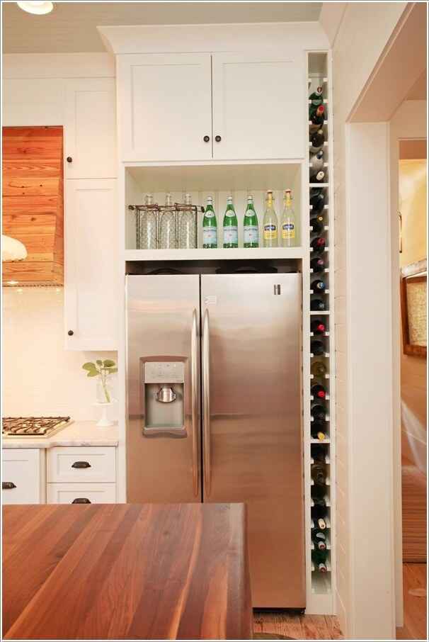 Vertical Storage Cabinets ~ Clever vertical storage ideas for your kitchen