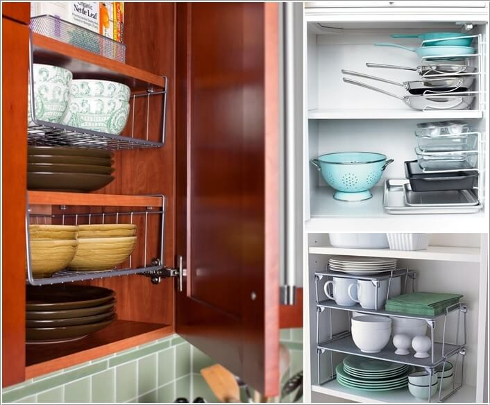 10-clever-vertical-storage-ideas-for-your-kitchen-6 Pantry Narrow Kitchen Ideas on narrow kitchen island ideas, narrow kitchen pantry cabinet, narrow kitchen nook ideas,