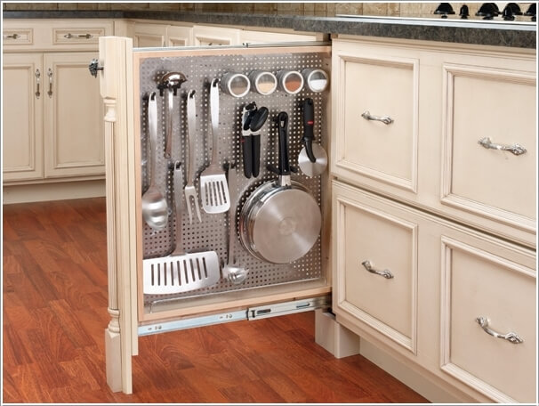 Kitchen Storage Pots And Pans Drawers