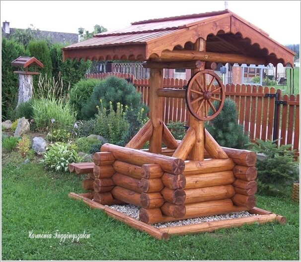 10 creative garden wishing well ideas for your home
