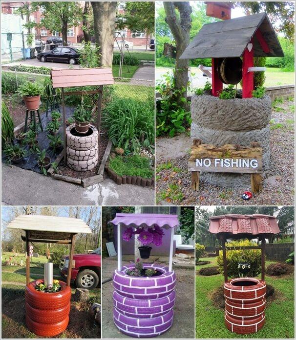 Creative Garden Ideas unusual and creative garden planter ideas 10 Creative Garden Wishing Well Ideas For Your