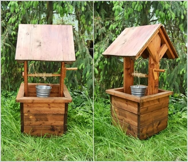 10 Creative Garden Wishing Well Ideas For Your