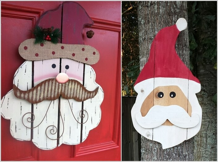 10 creative pallet christmas decorations to try this