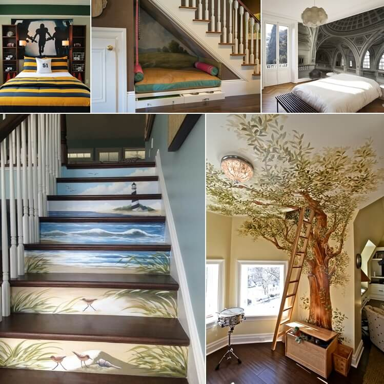 Amazing Interior Design Pic1: 10 Creative Ways To Decorate Your Home With Murals